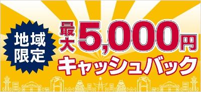 ドコモ光 5,000円キャッシュバックキャンペーン